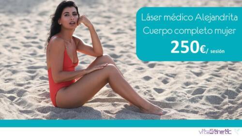 depilación laser  mujer
